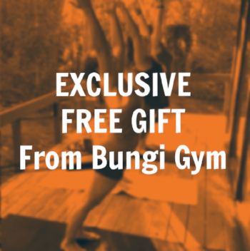 Click here and recieve an exclusive gift from Kipling Solid, creator of BungiGym.