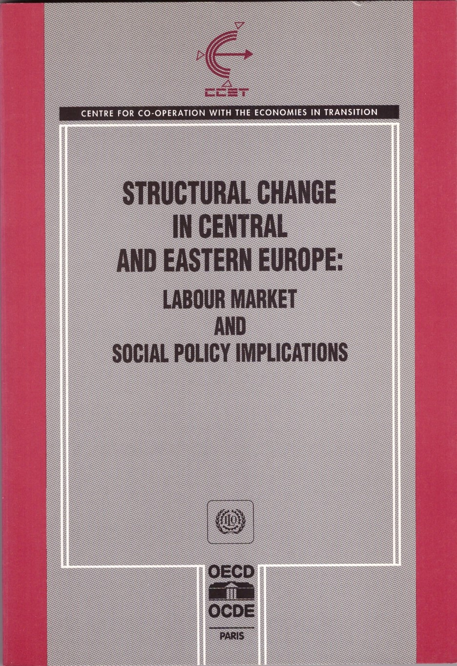 Structural Change in Central and Eastern Europe: Labour Market and Social Policy Implications , edited with G. Fischer (Paris: OECD, 1993).   Translations   ●   Details
