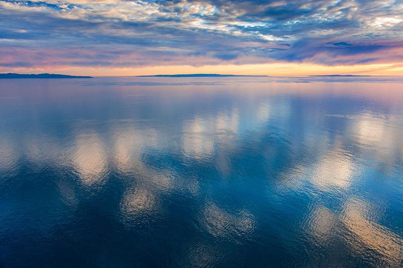 channel reflections , 6x9, $450.jpg