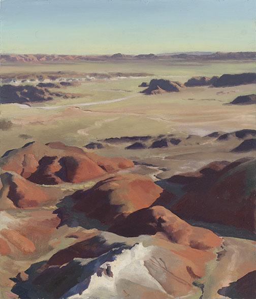 Kachina Point Dawn , oil, 14 x 12 inches