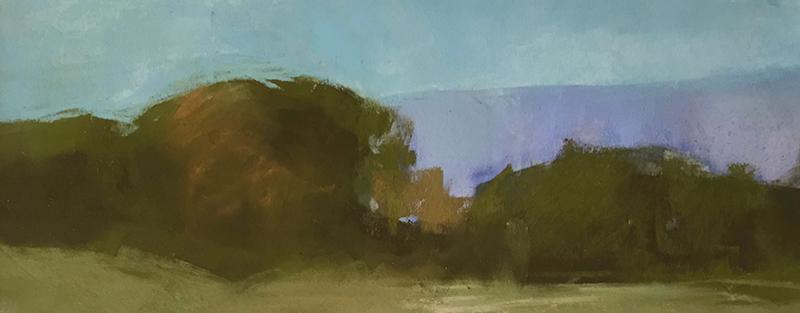 Marilee Krause   Savannah 2   w/c & pastel 4.5×10.5 in.