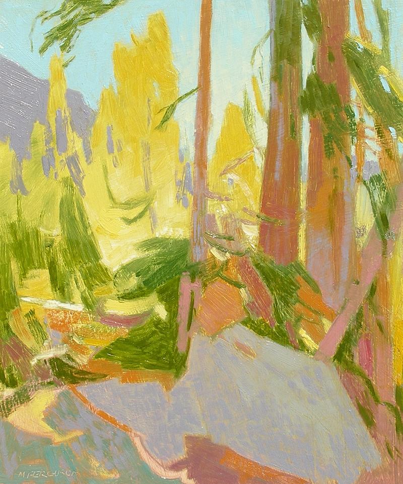 Michael Ferguson   Blue Lake Trail   oil 13×11