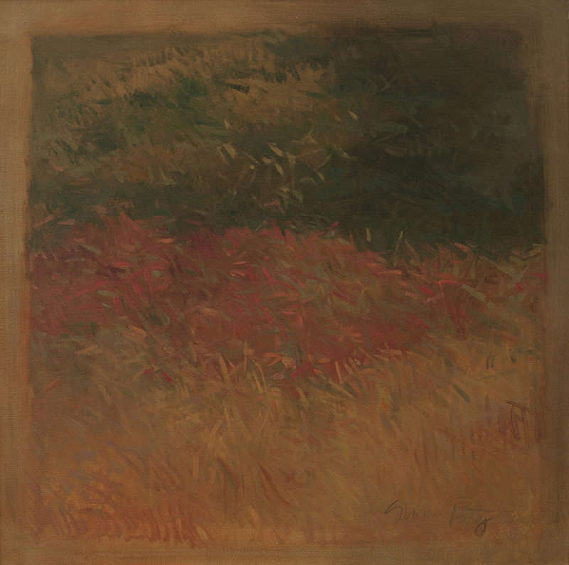 Susan Petty   Roadside Color   36 x 36 inches oil