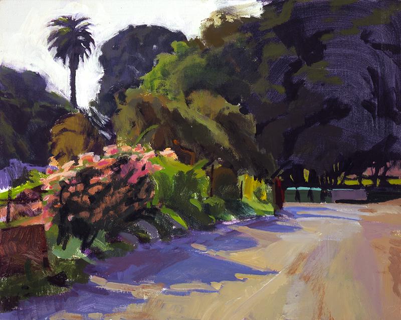 Road through the Garden II