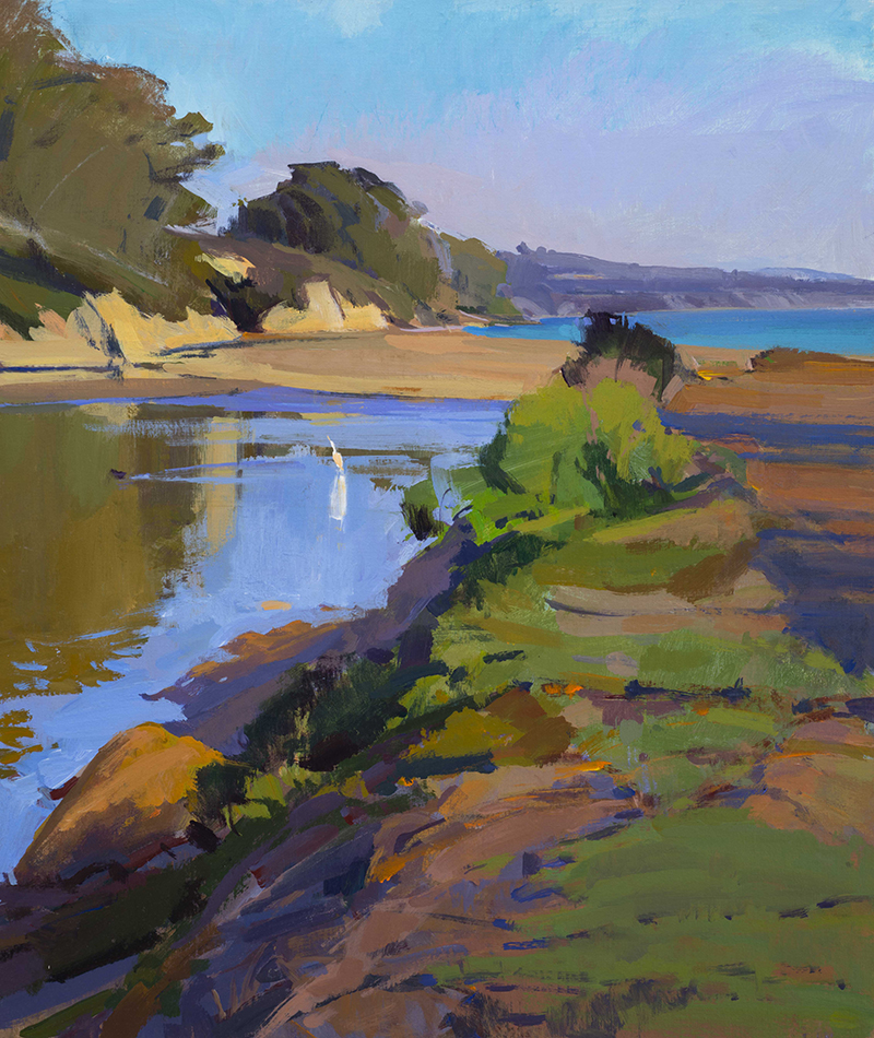 Autumn Light, Goleta Slough