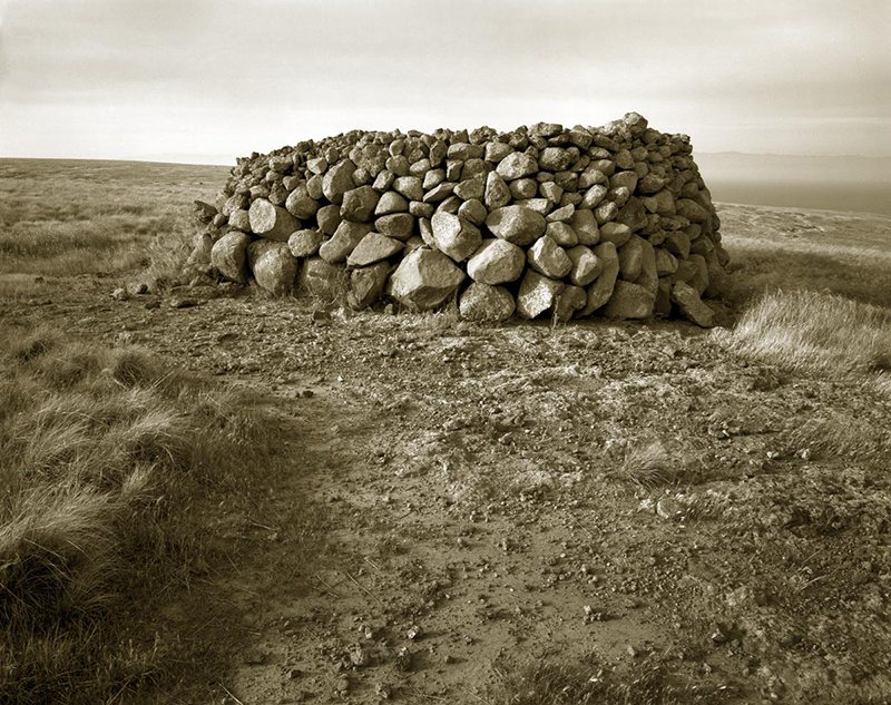 Cairn on Outcrop, Sta Cruz Island