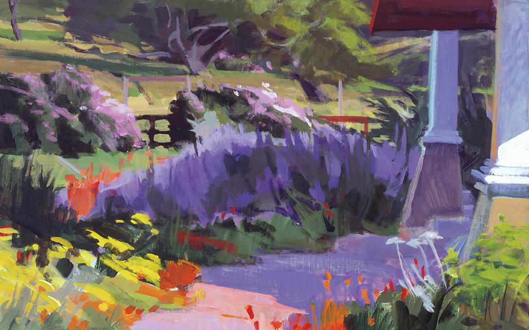 The Artist's Garden - ranch retreat