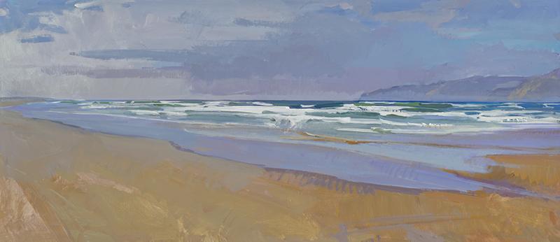 Painting of Oceano State Beach
