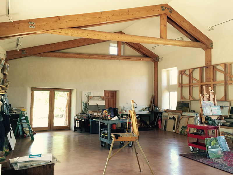 Ranch art studio