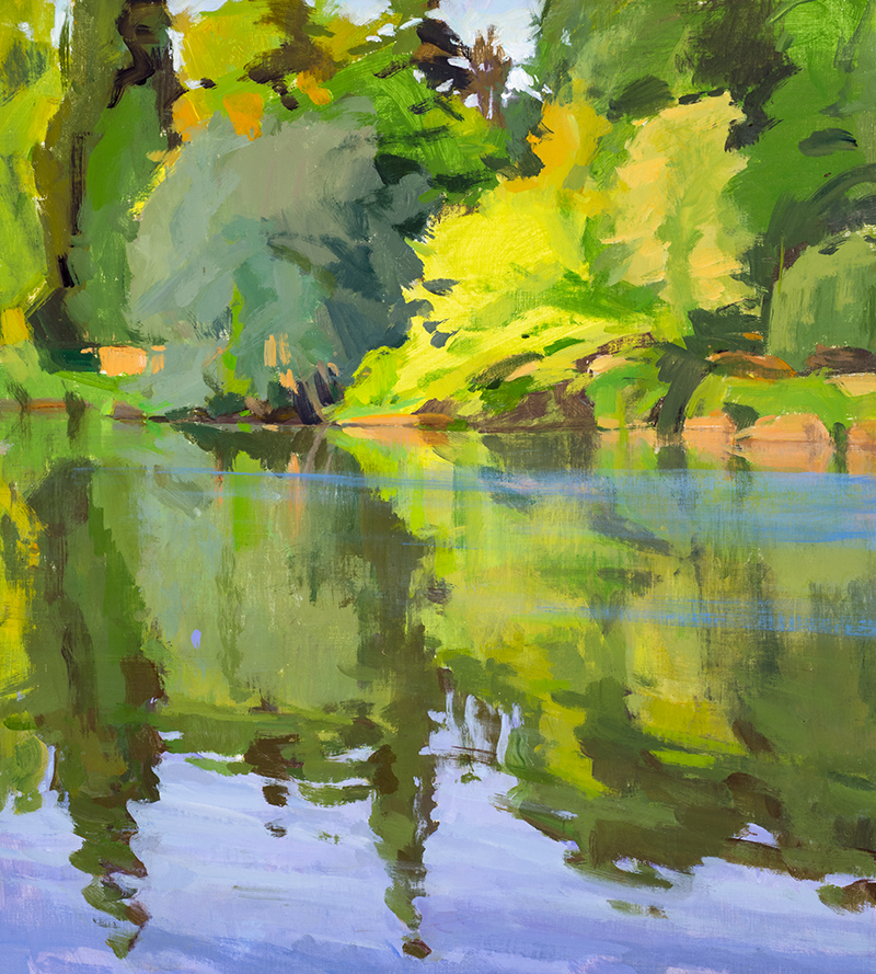 Afternoon, Lot River