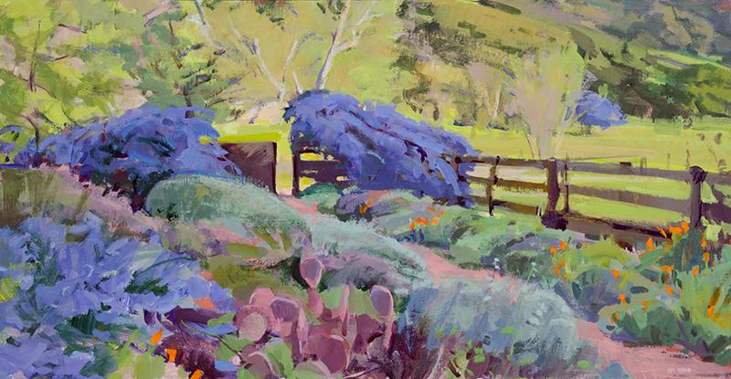 Spring Garden, Open Gate