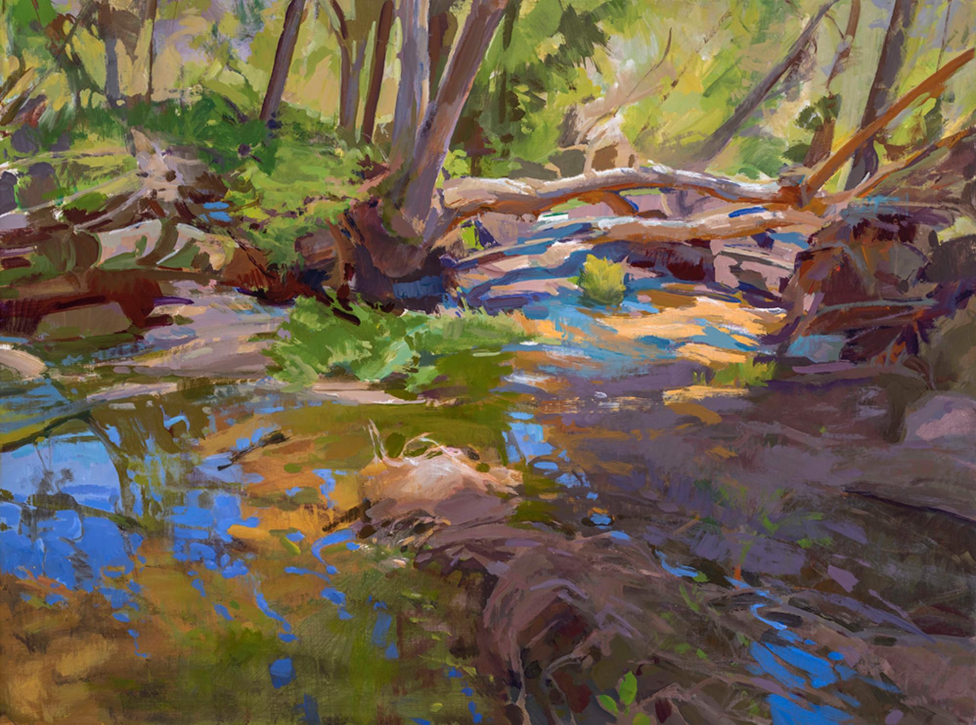 Marcia Burtt - Escondido Creek Triptych