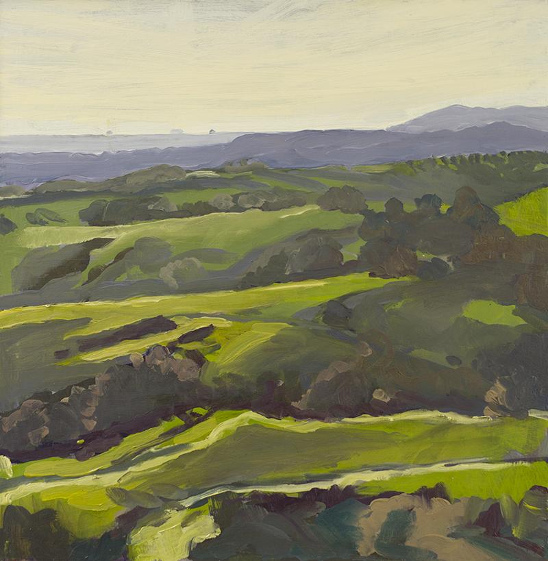Backlit Hills