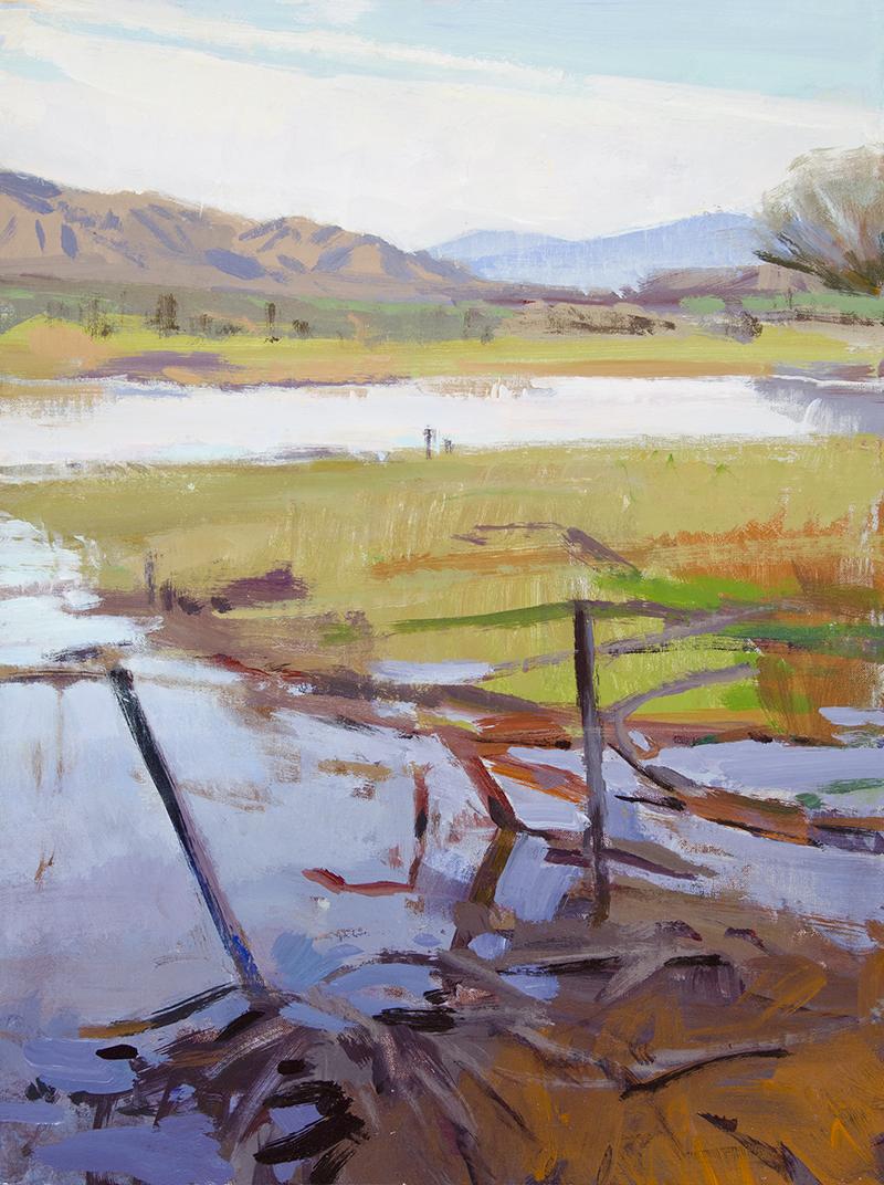 Overcast, Caliente Ranch