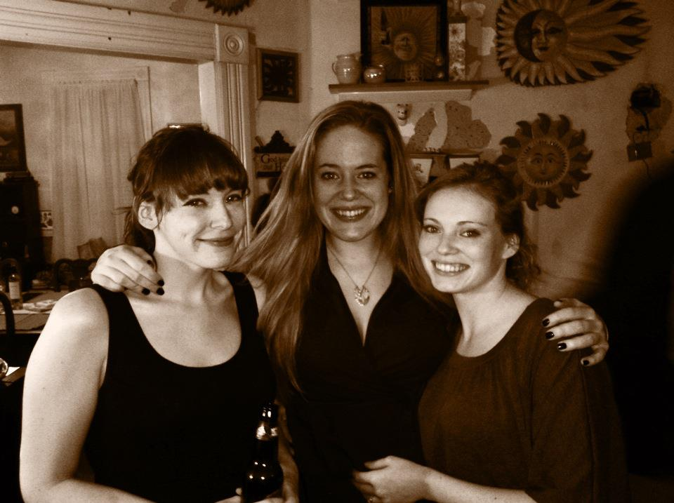 My amazing sisters and me