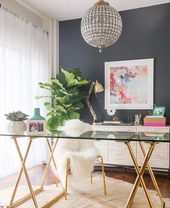 Desi Perkins' Desirable Home Office