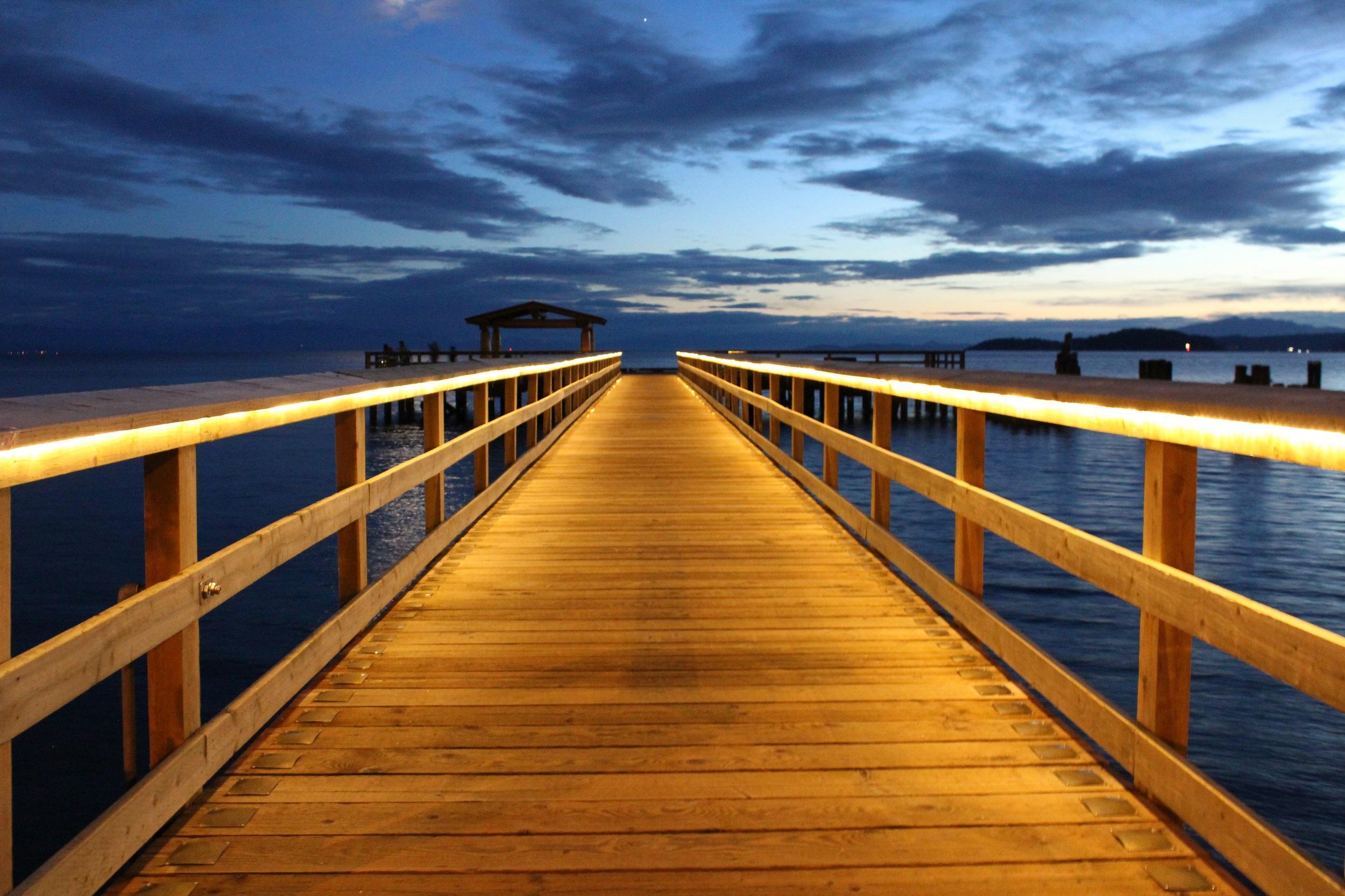 DAVIS BAY BEACH - SWEET SUNSETS!