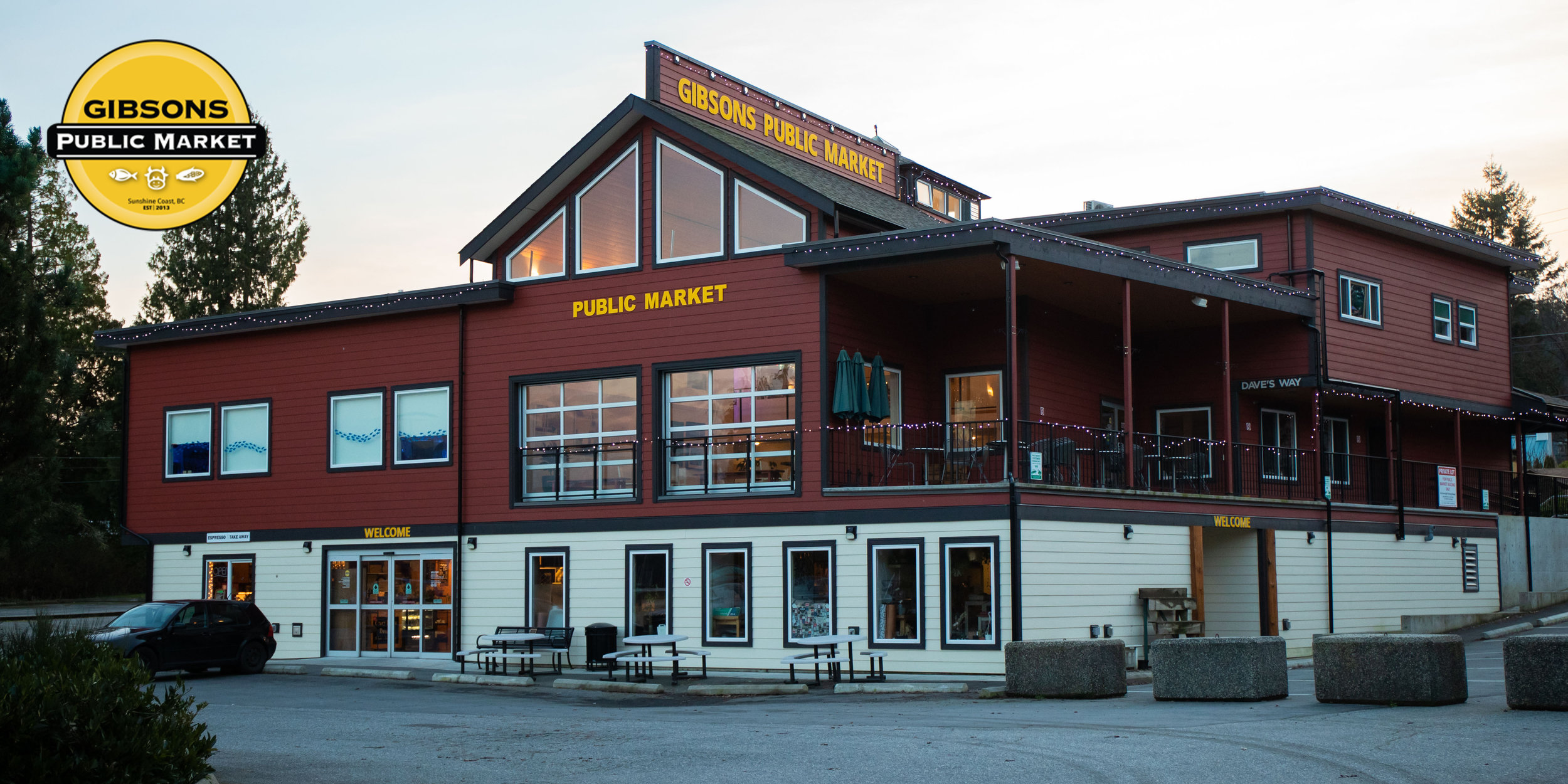 GIBSONS PUBLIC MARKET - THE BEST OF THE COAST!