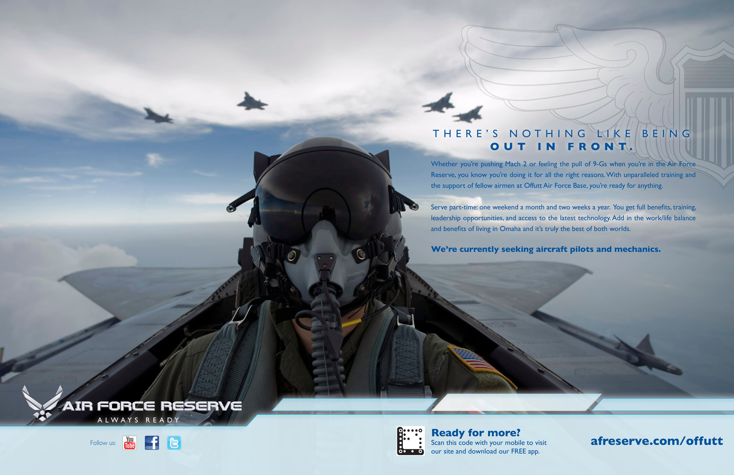 Air Force Reserve Branding Ad - Pilots