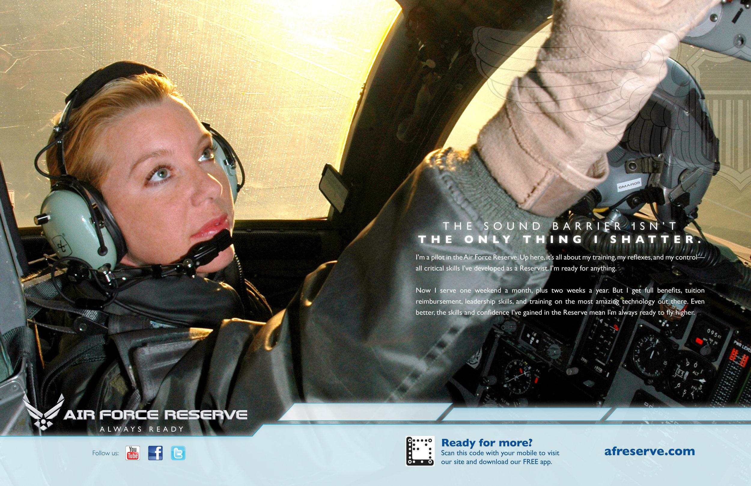 Air Force Reserve Branding Ad - Women