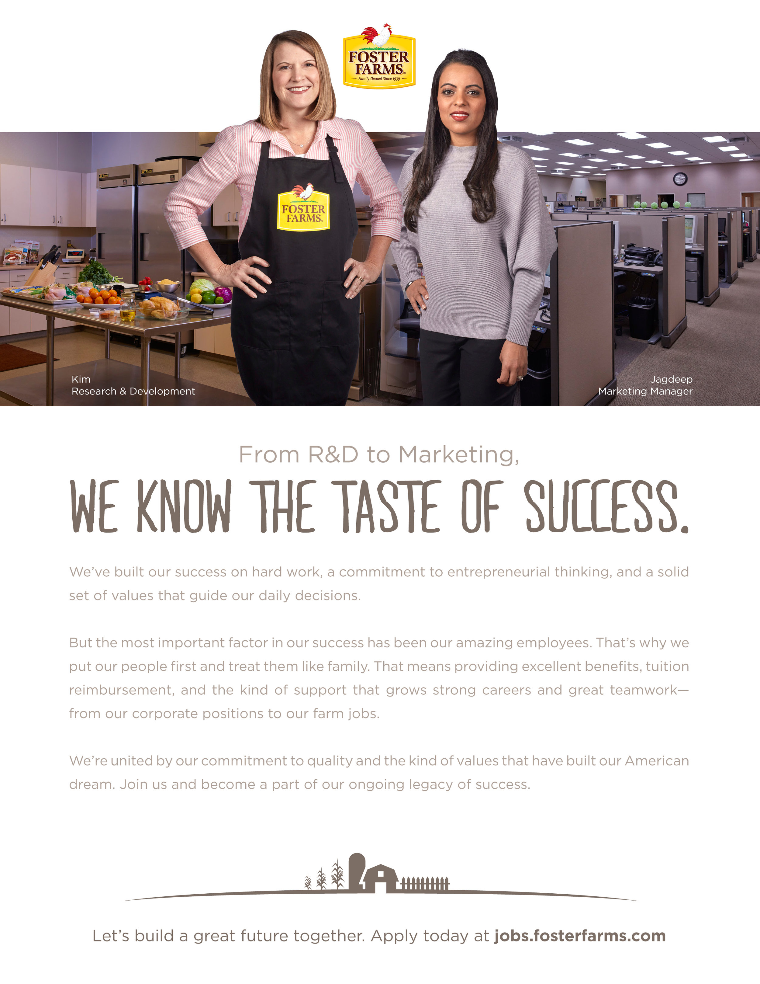 Foster Farms Brand Marketing and Design