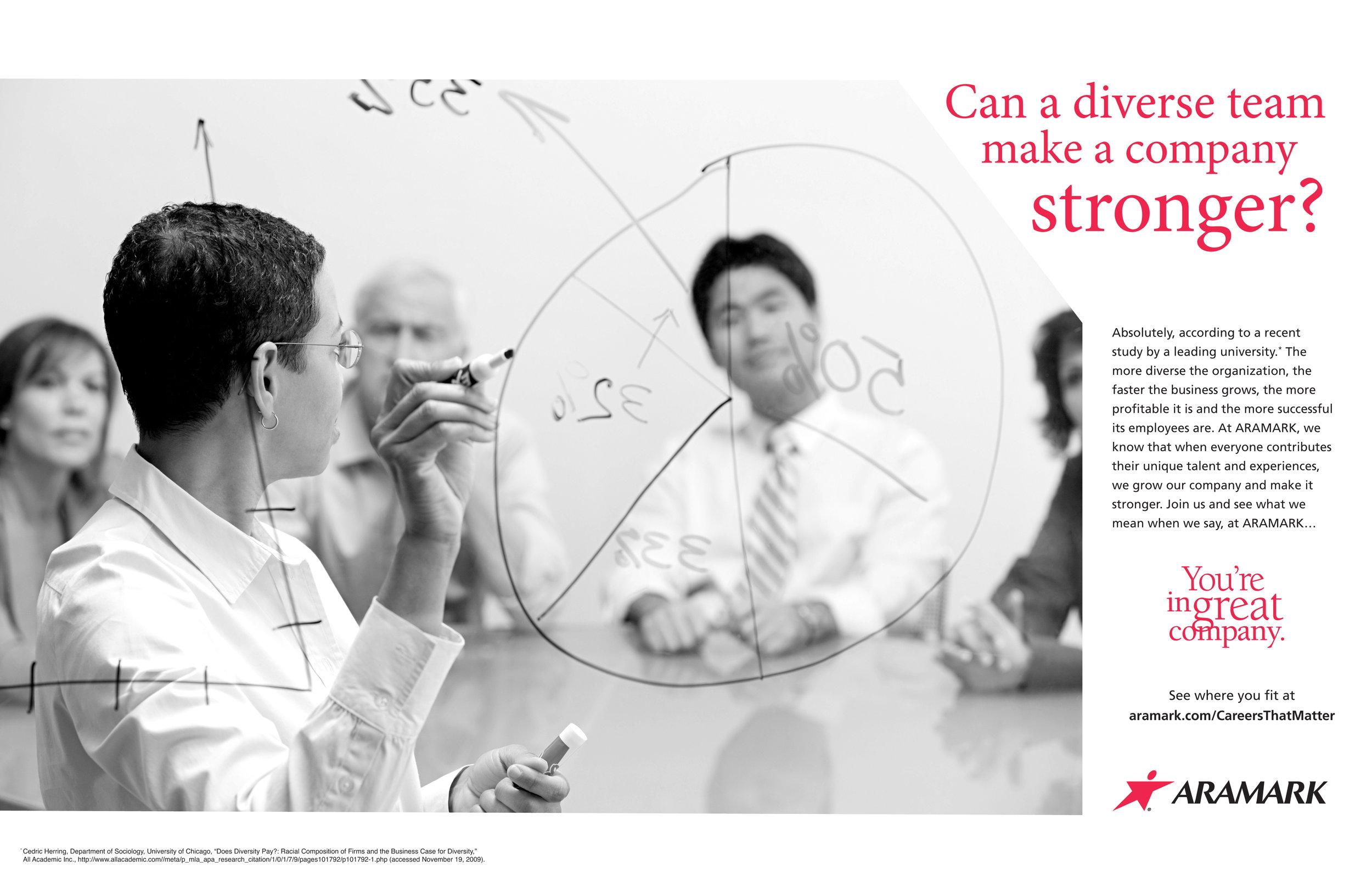 ARAMARK Diversity Marketing