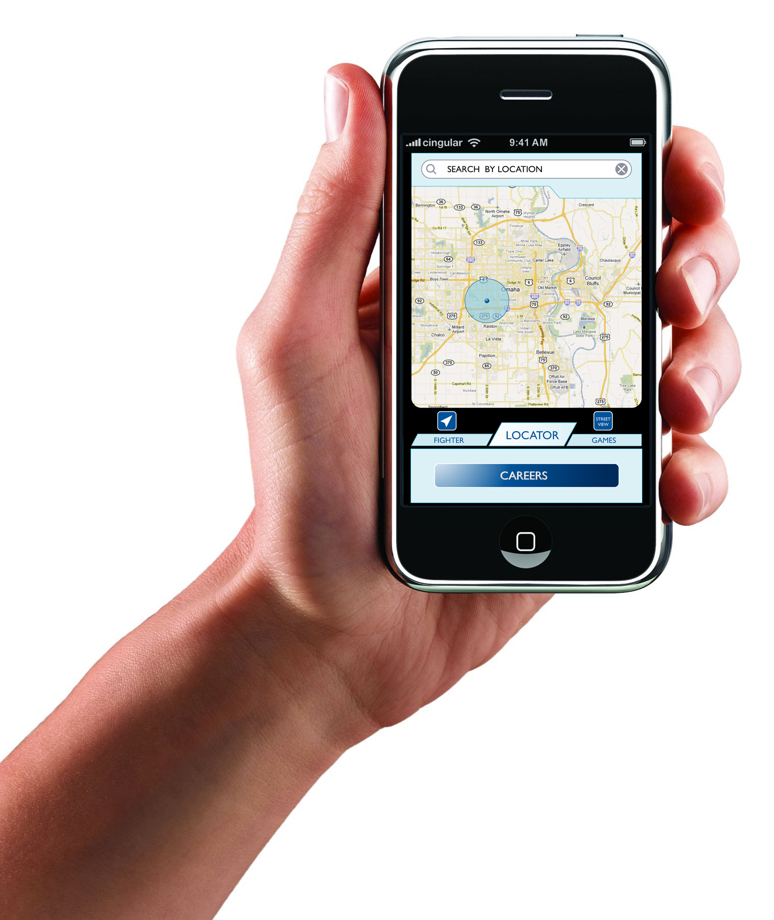 Air Force Reserve Mobile App Mapping