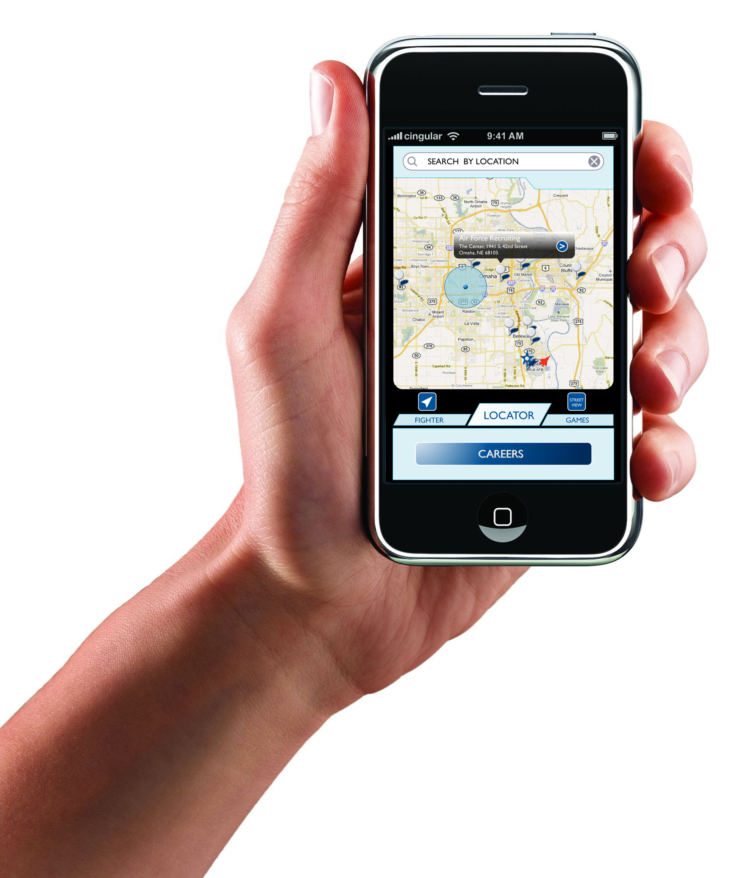 Air Force Reserve Mobile App Geo Location