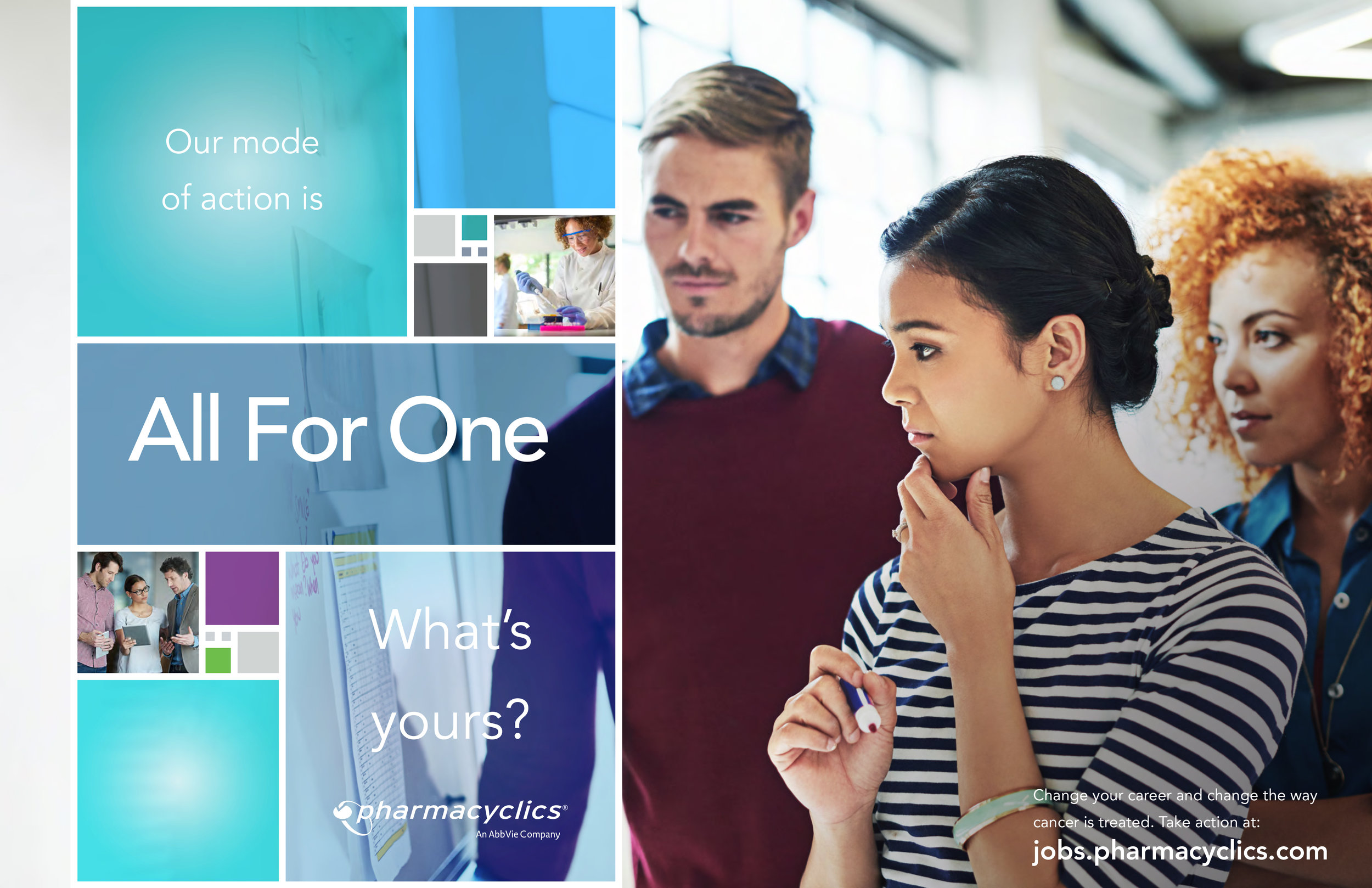 Pharmacyclics Corporate Brand Advertising