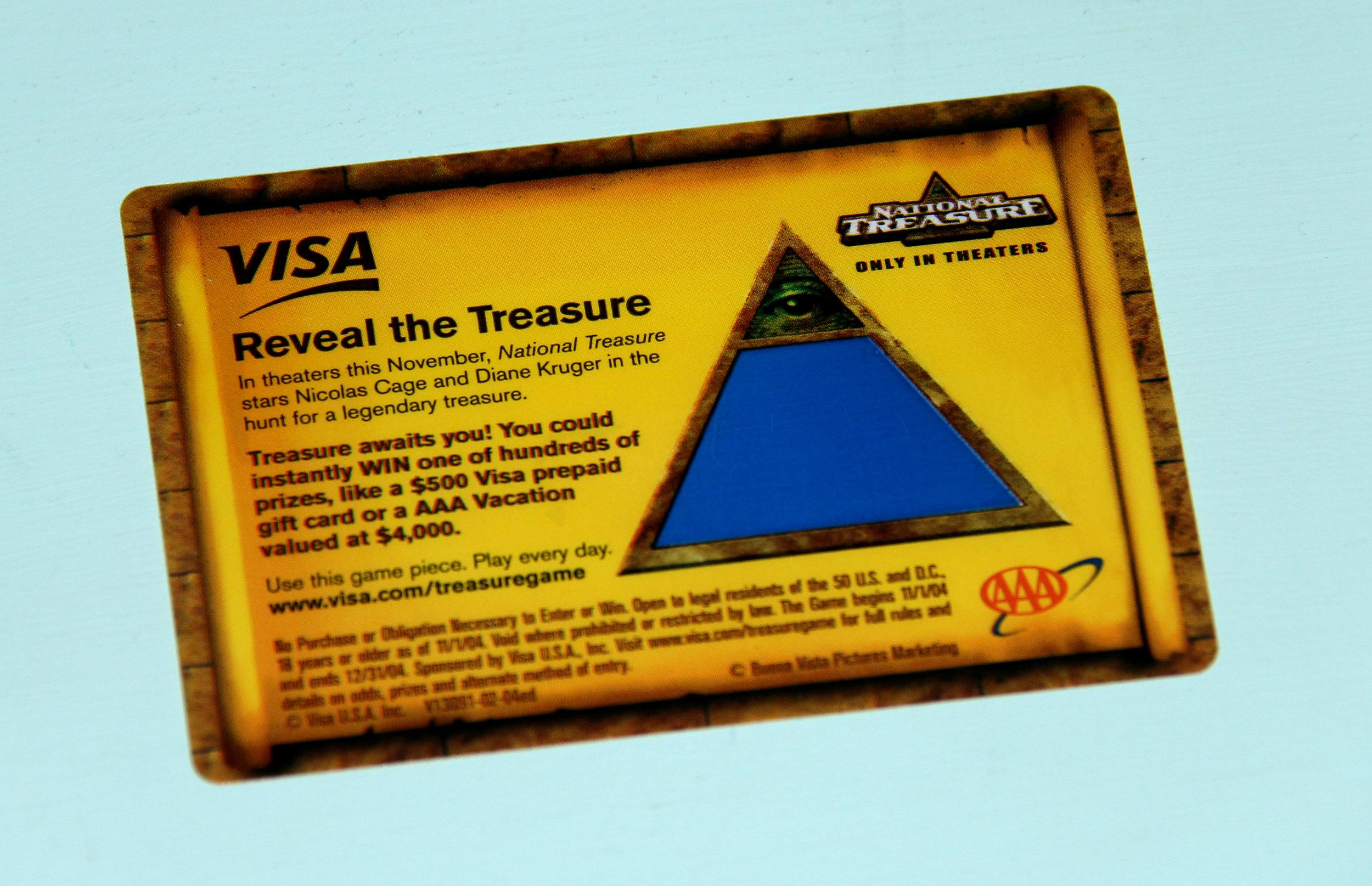 Visa Holiday Consumer Promotion Game eDecoder.