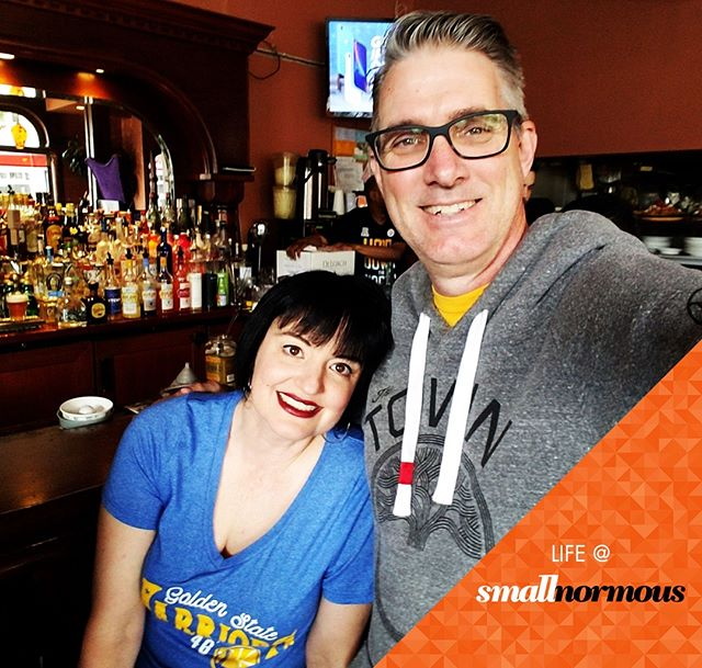 The absolute BEST place to watch the playoffs? Our local, the #belltowersf @BellTowerSF. Let's do this, #Dubs! #strengthinnumbers #nbaplayoffs #dubnation #warriorsground #goldenstatewarriors #gsw #slimreaper #draymond #klay #chefcurry #warriors #localpub #localsonly #smallbusiness #smallbiz #sf  #thetown #yayarea #gosmall