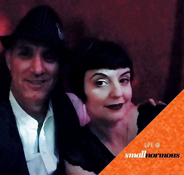 Life at smallnormous means a night out dancing @trapeze_worldwide with @swingrowers. We love the @rickshawstop @delachaux and of course, @zjitzjo lead by the inimitable @boenobo. Thanks for an amazing night!⠀ ⠀ ⠀ #electroswing #localbusiness #smallbusiness #swing #neoswing #roaring20s #gatsby #sfnightlife #sfadterdark #entrepreneurlife #instagood #smallbiz #dowhatyoulove #womeninbusiness #worklifebalance