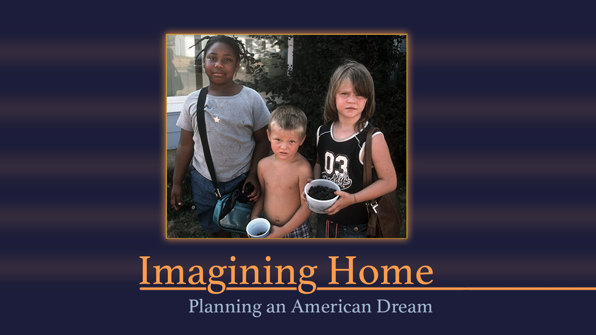 IMAGINING HOME: Planning an American Dream - 2010   Imagining Home  traces the complete transformation of Columbia Villa—a historic, cherished, and maligned Portland, Oregon public housing neighborhood enduring poverty, gang violence, and racial discrimination—yet hoping for a new chance. The film follows several main characters over five years through displacement, relocation, and return to the new development. Despite numerous obstacles, the tenacity and cooperation of residents move the charge to rebuild the soul of their community. Then, when New Columbia is re-inhabited, tensions around race and class threaten the new-found stability. Watch the trailer  here .