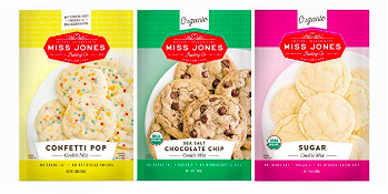 Dye free cookie mix