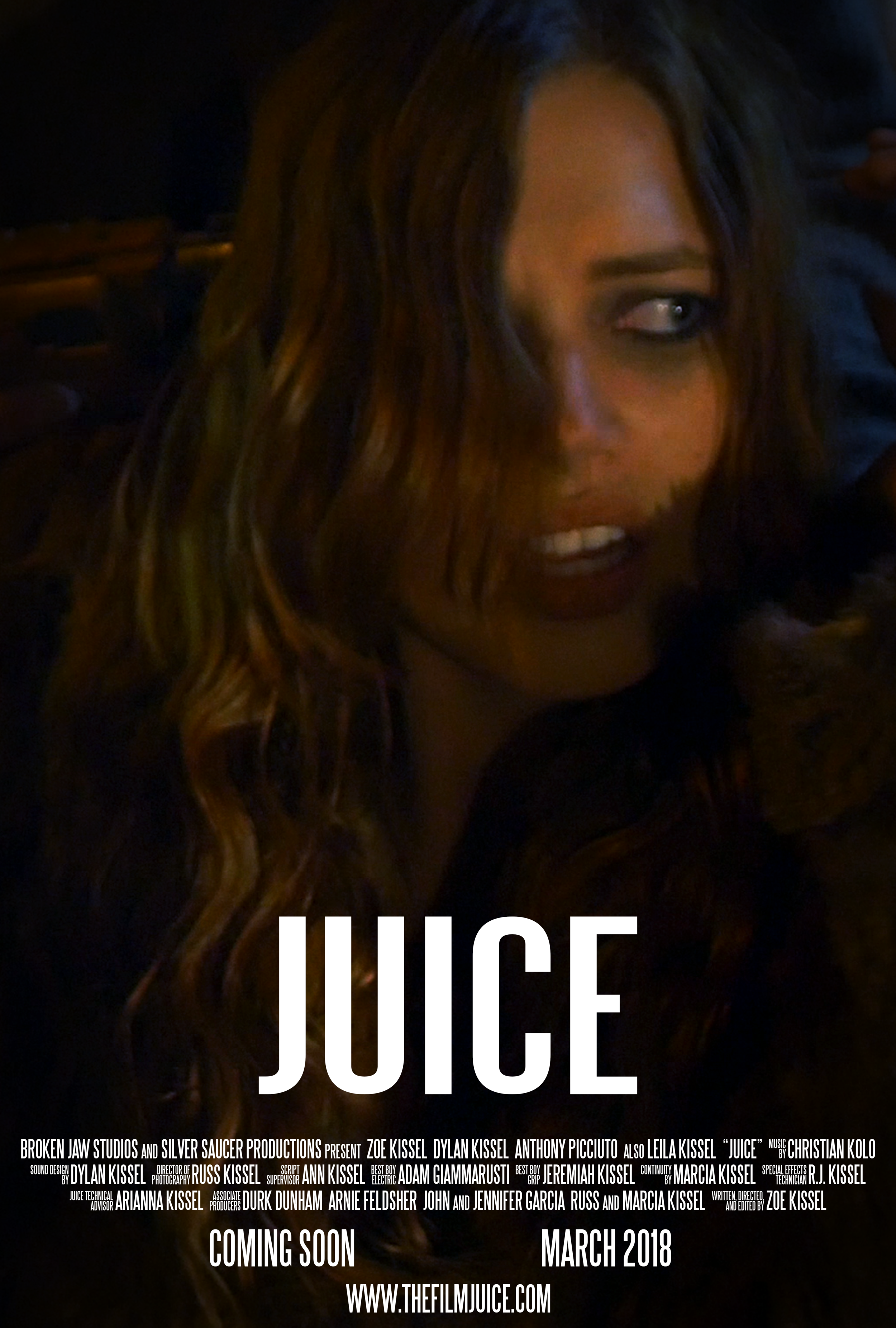Zoe Kissel Blog Writing In Filmic Terms Juice Production Newsletter