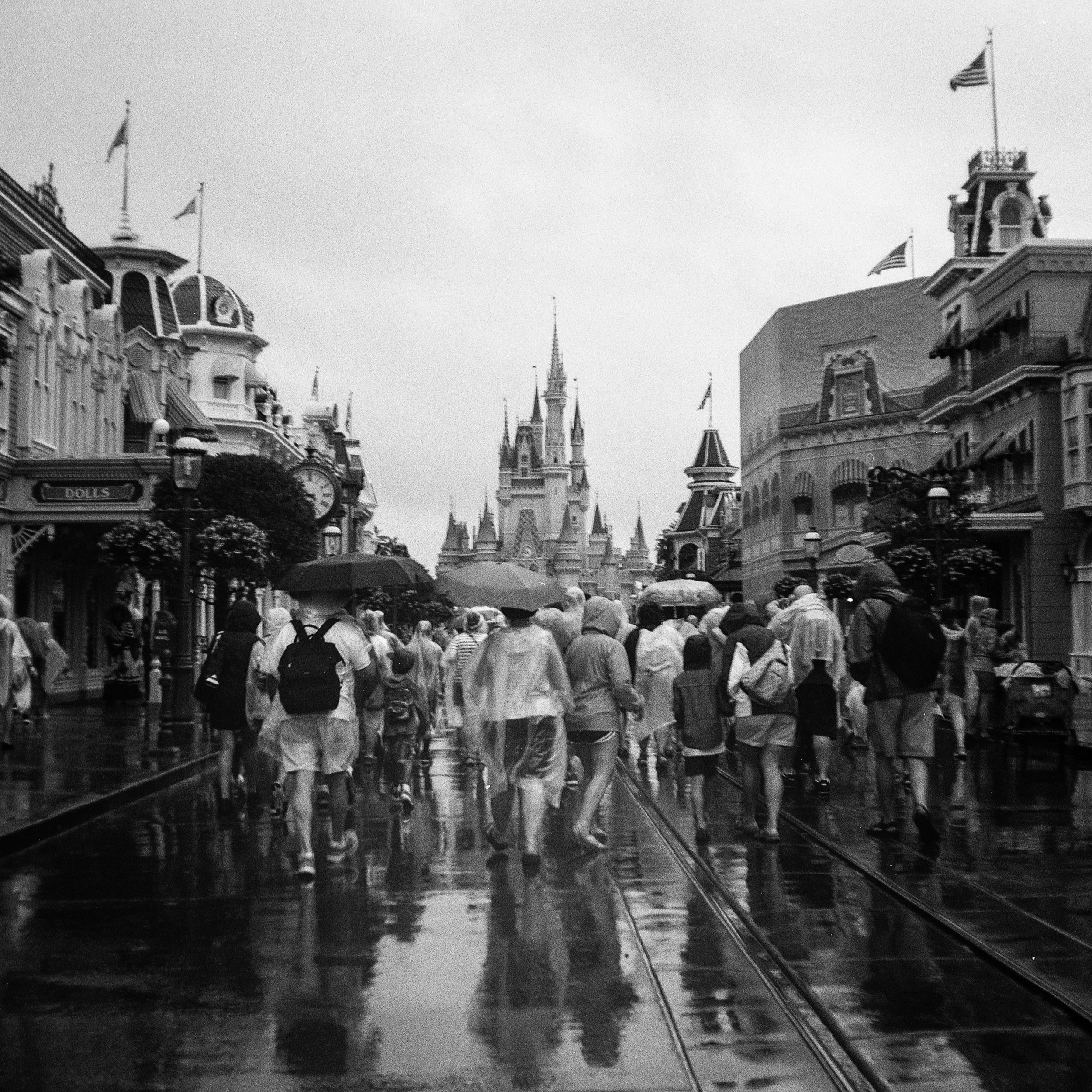 1949 Kodak Brownie Hawkeye Photo Medium Format 620 Film Zoe Kissel Photo Walt Disney World Magic Kingdom Main Street Cinderellas Castle