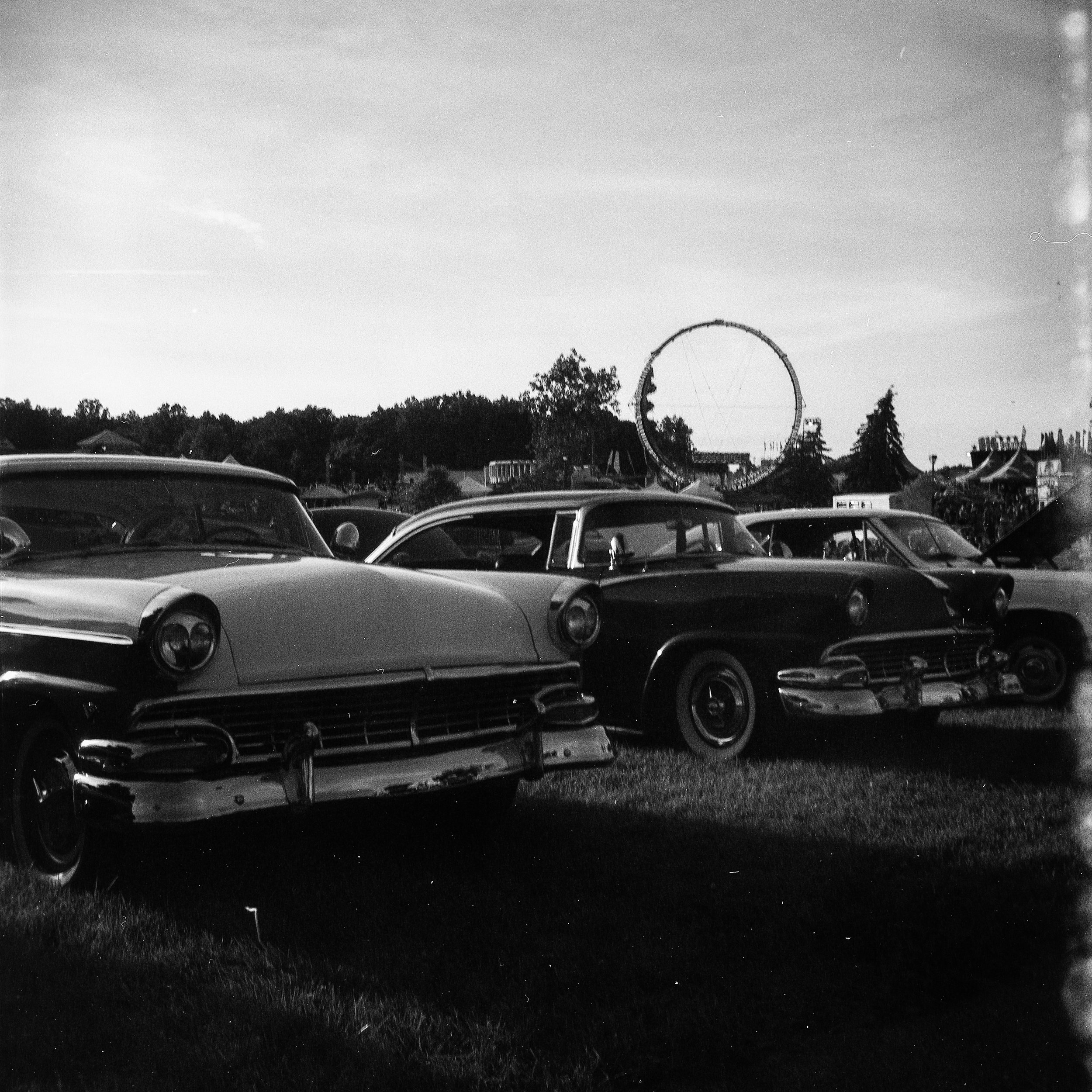1949 Kodak Brownie Hawkeye Photo Medium Format 620 Film Zoe Kissel Photo Riverview Summerfest Cars
