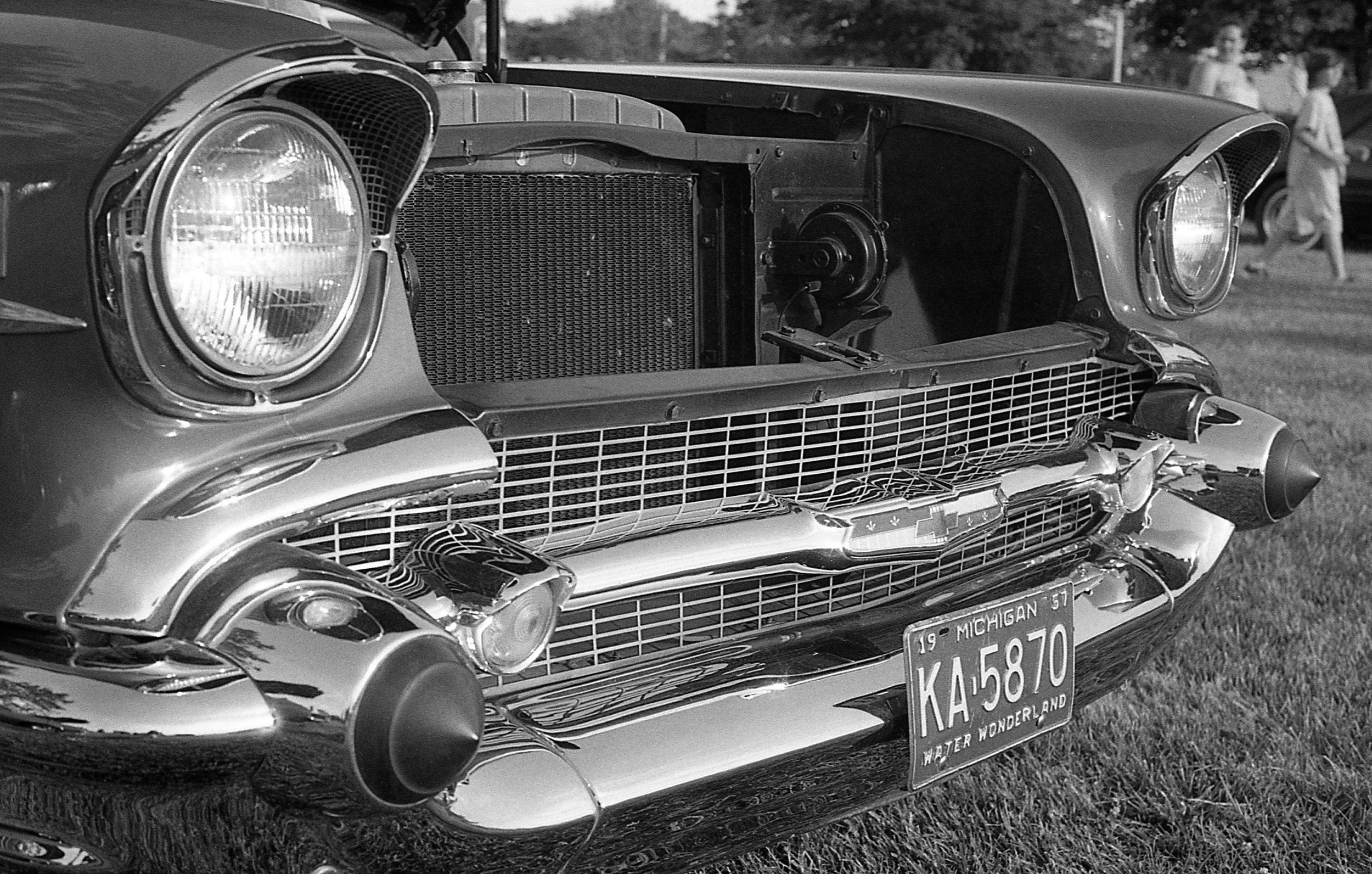 1981 Minolta X-700 Photo 35mm Film Zoe Kissel Riverview Summerfest Cars