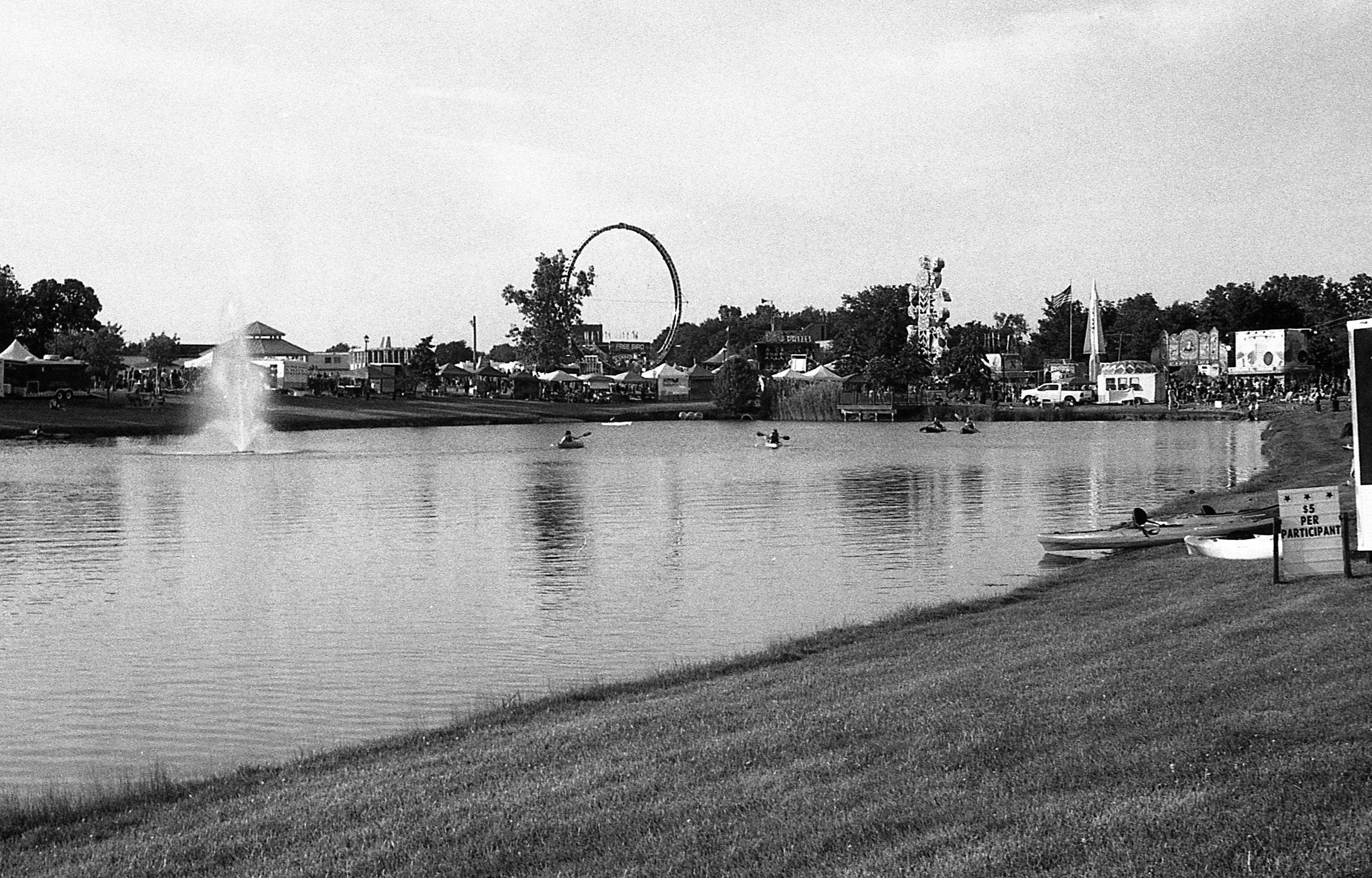 1981 Minolta X-700 Photo 35mm Film Zoe Kissel Riverview Summerfest Carnival