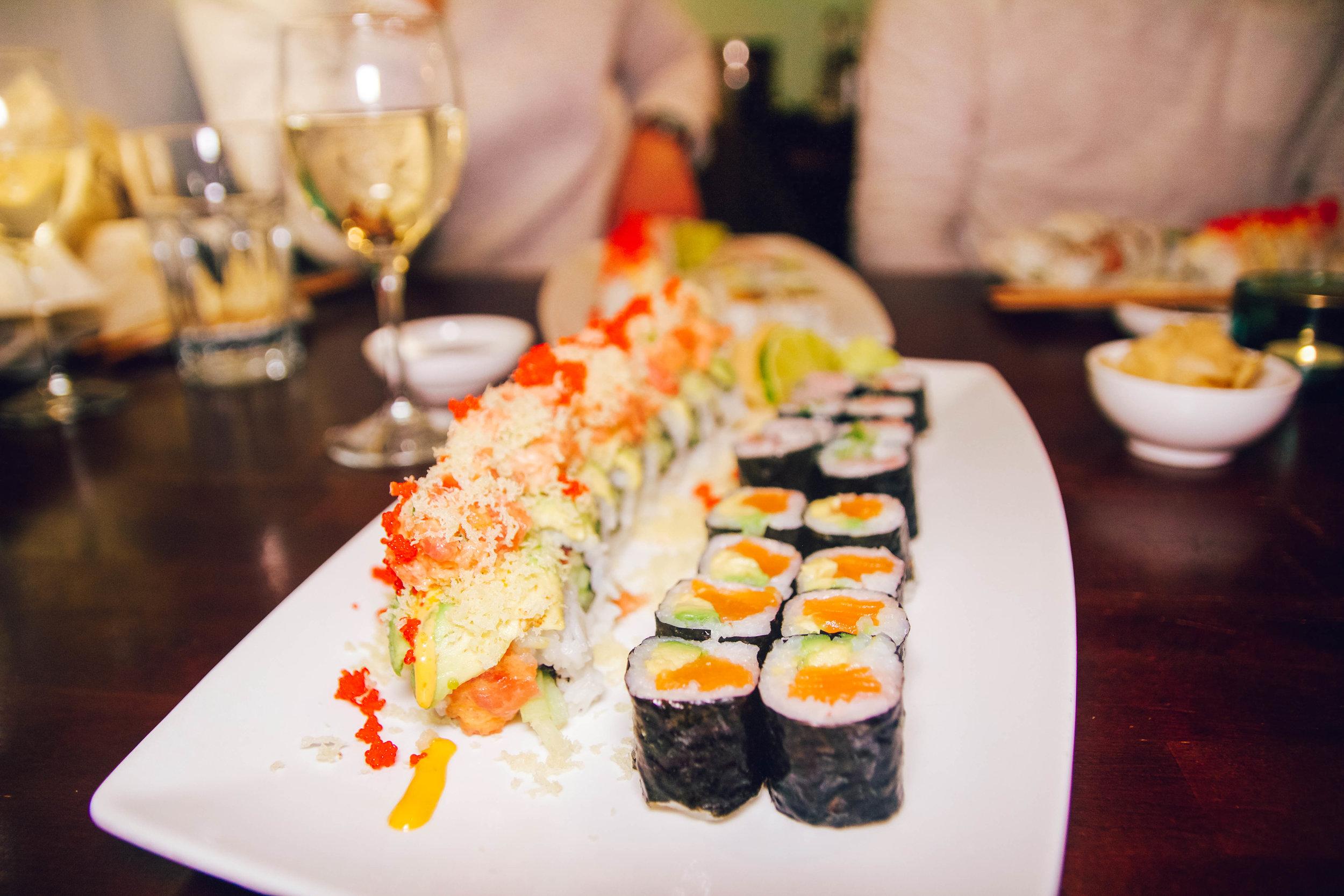 Hikari Roll + Salmon Avocado