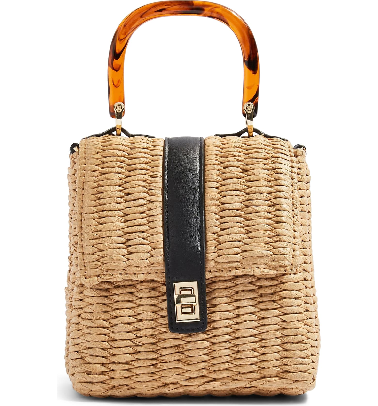 SOO cute and surprisingly holds more than one would think! Also comes with a removable over-the-shoulder strap!