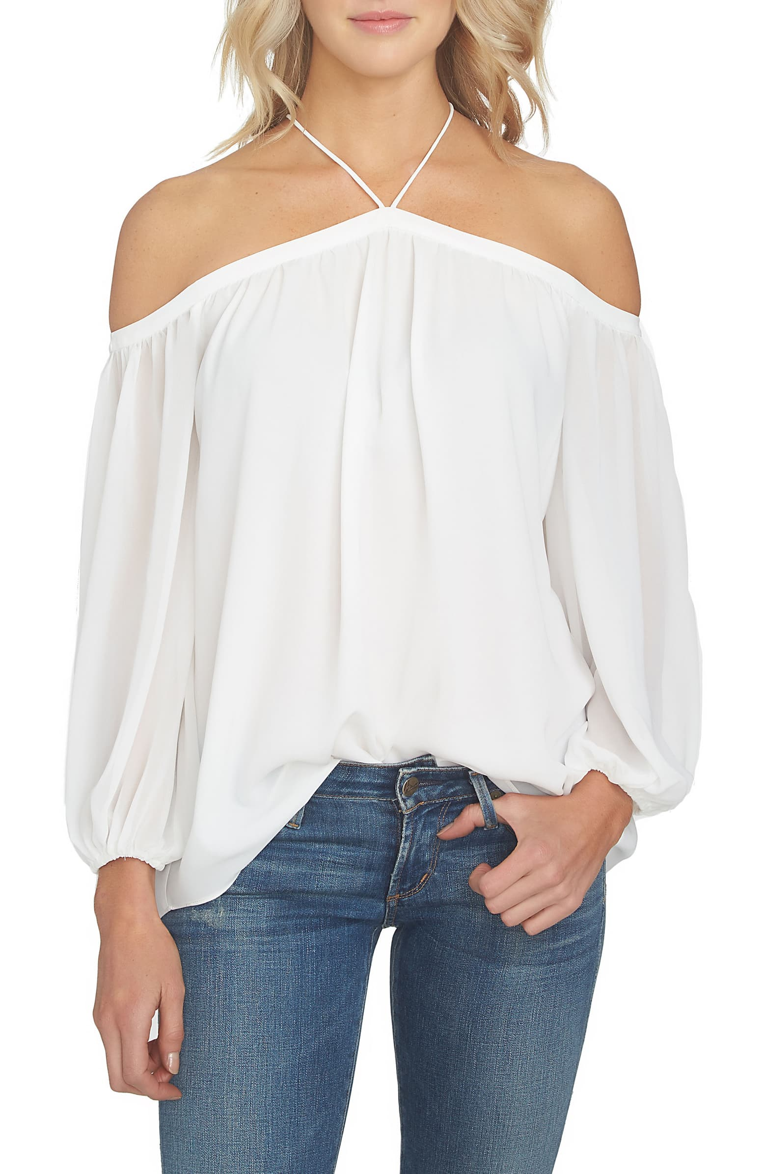 """I'm just as in love with this top now as I was back in May when I clicked """"order!"""" It's so romantic, light, and flattering!"""