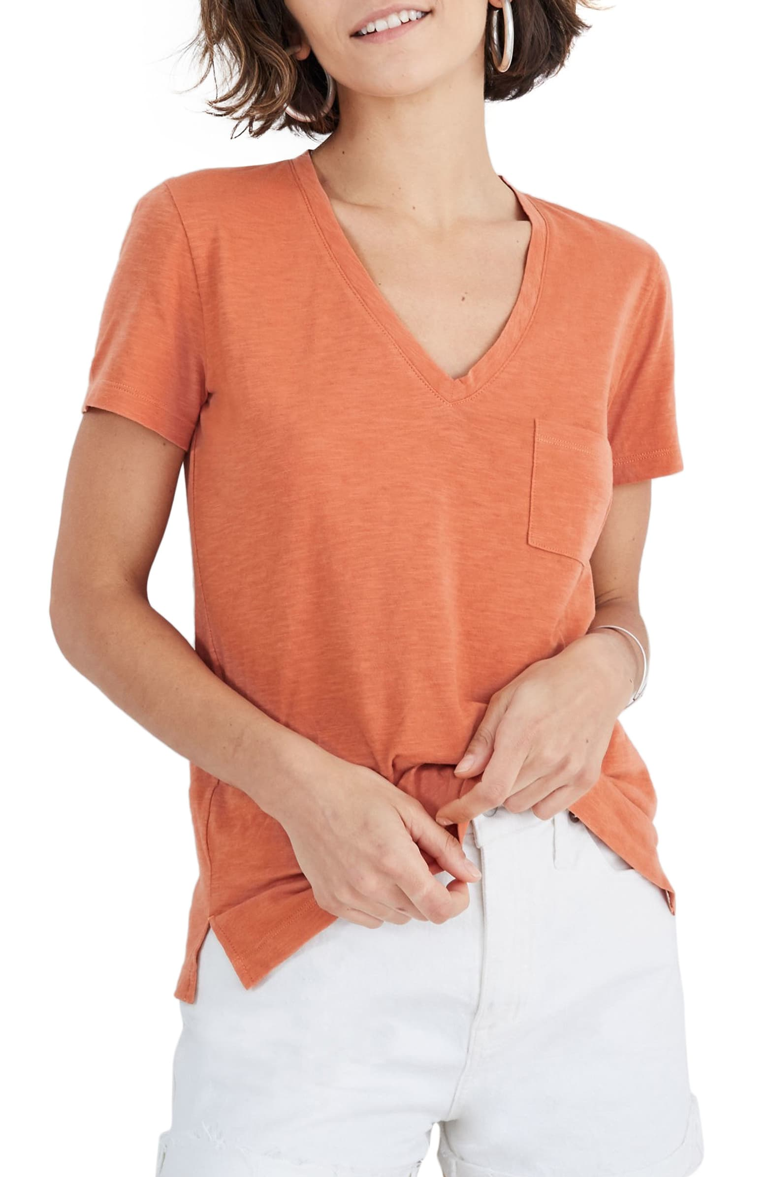 Simple tee, but good quality and very soft!