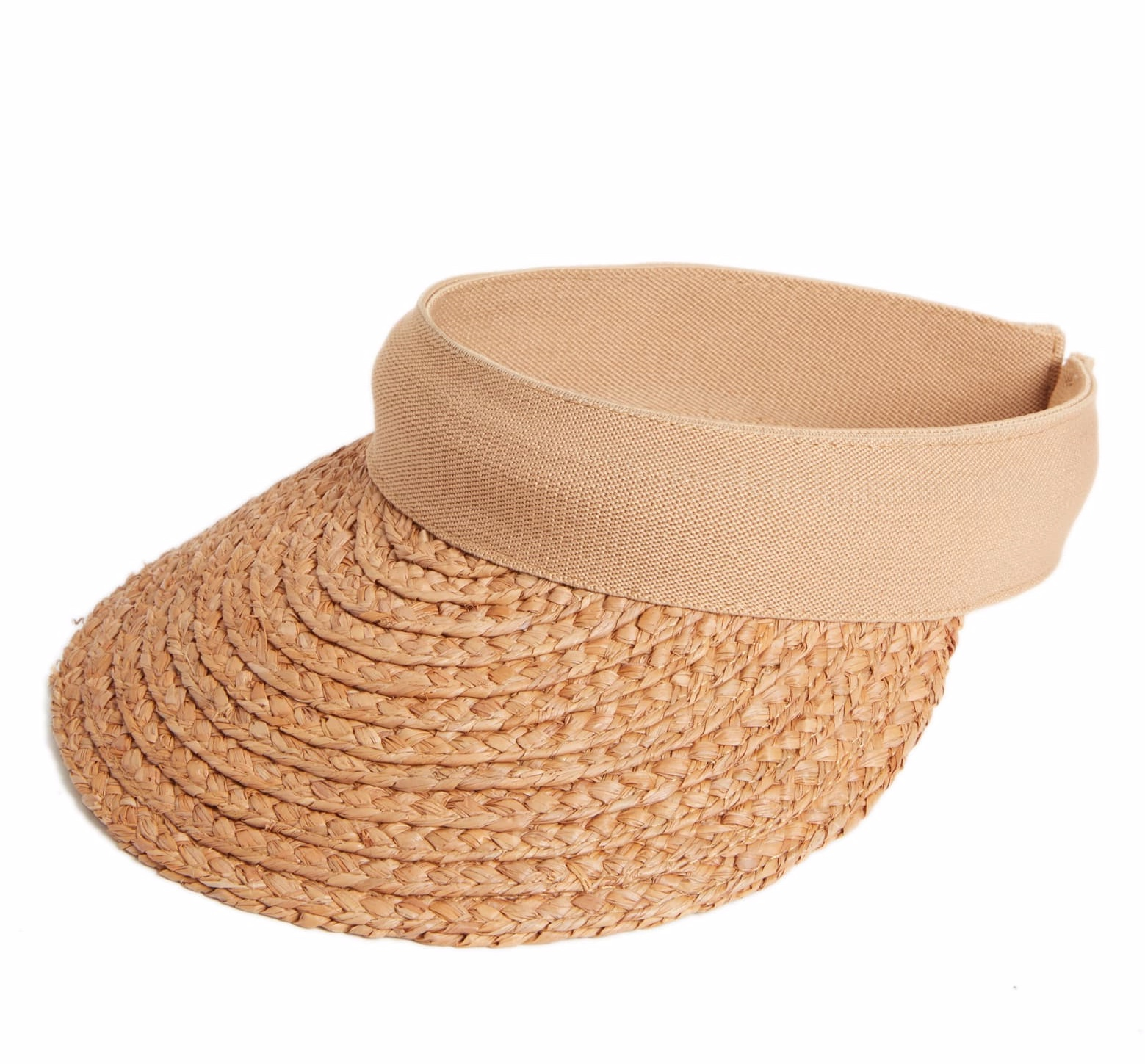 Perfect to block the sun, but not have a hat crush your hair or make you extra sweaty! It's breezy and the braided straw makes it cute and fun!