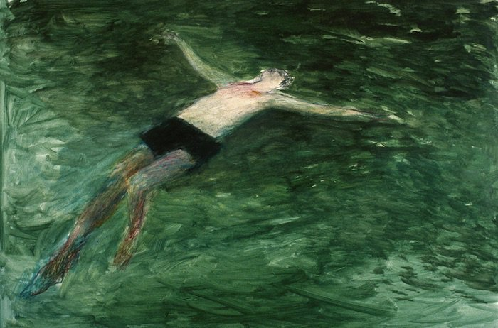Swimmers. Betty Goodwin. To accept and sink. To struggle and swim.