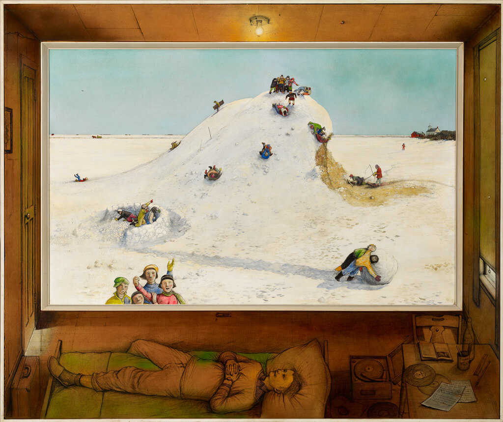 Reminiscences of Youth. William Kurelek. I dream of a scientific publishing paradigm free of capitalist corruption.