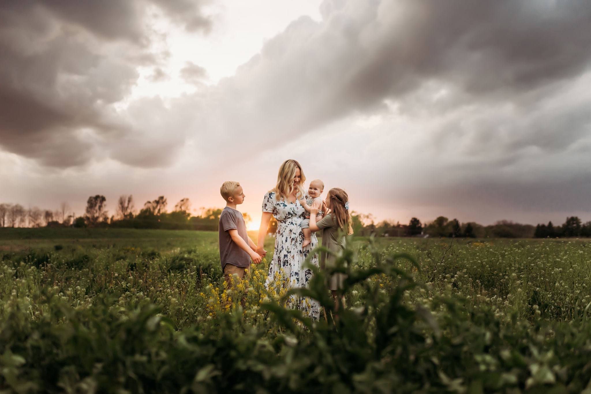 Your Tribe - An effortless mix between lifestyle and posed family sessions in Kenosha County and surrounding areas.