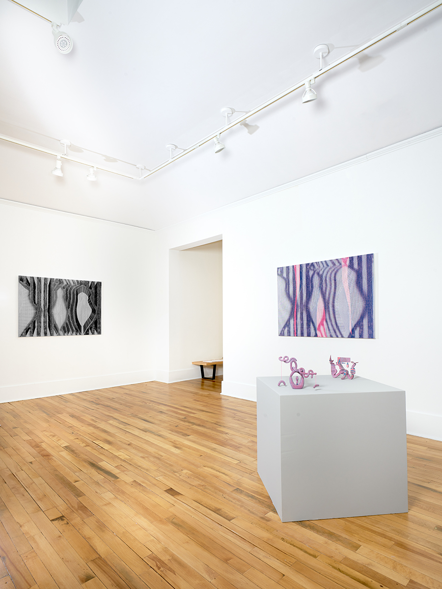 A Dialog on Distortion,  Graham McDougal and Bayne Peterson at  Providence College Galleries , Curated by  Jamilee Lacy , Photo credit: Scott Alario