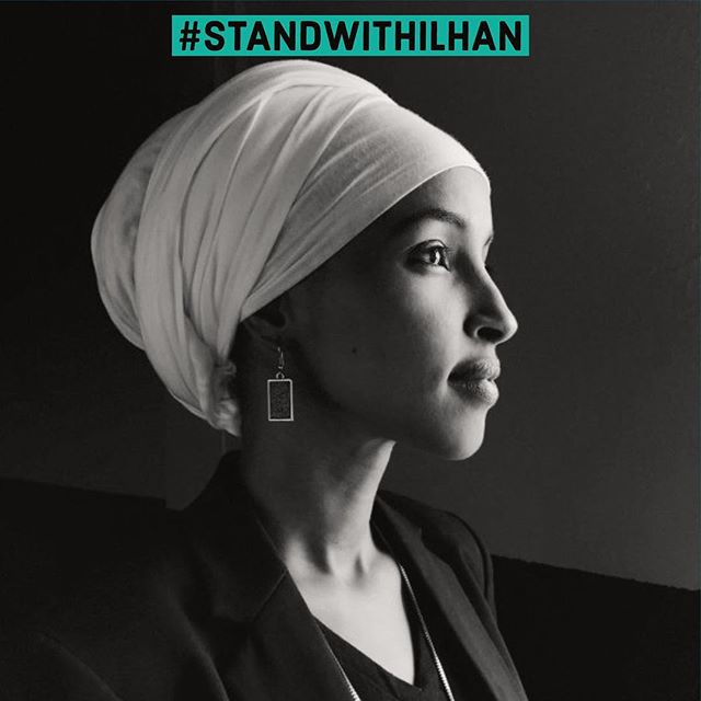 Even after apologizing for the impact of her statements, @IlhanMN continues to be attacked by a bad-faith right-wing smear campaign. We're calling on @speakerpelosi @leaderhoyer and Rep. Engel to not cave to these attacks: standwithilhan.org (LINK IN BIO) #StandWithIlhan