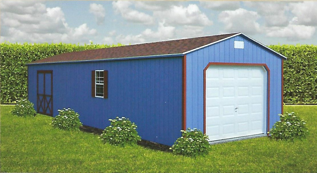 8 FT WALL GARAGES